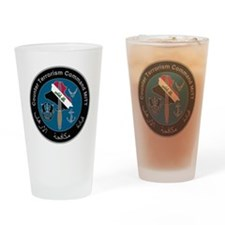 Counter Terrorism Command PNG Drinking Glass