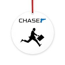 ChaseMan Round Ornament