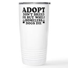 Adopt Homeless Travel Coffee Mug