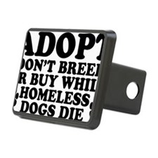 Adopt Homeless Hitch Cover