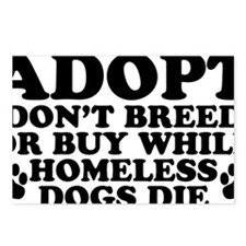 Adopt Homeless Postcards (Package of 8)