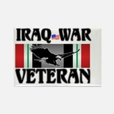 IRAQ WAR VETERAN Rectangle Magnet
