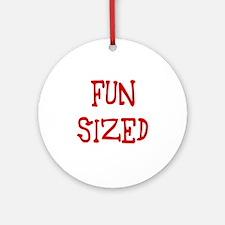 funsized Round Ornament