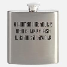 A woman without a man W Flask