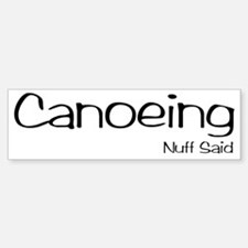CanoeingNS Bumper Bumper Sticker