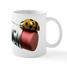 10x10_apparelLdyBugPencilMIDL Mug