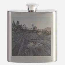 Pemaquid round ornament Flask