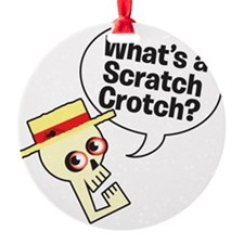 Scratchcrotch_dark Ornament