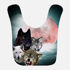 Wolfs Moon Bib