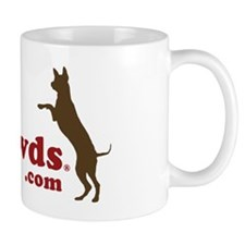 Tripawds.com Three Legged GSD Jerry Mug