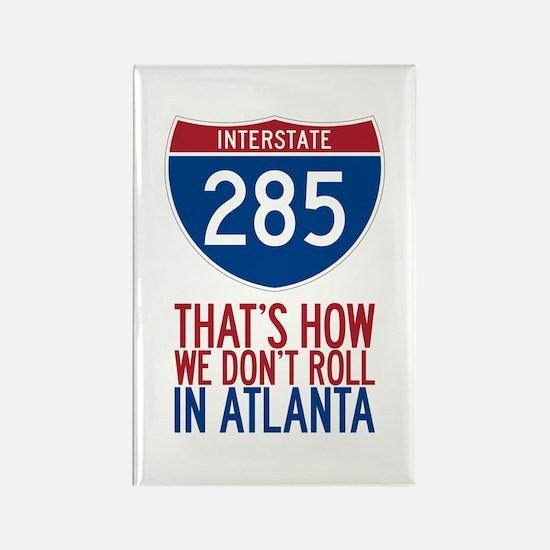 Traffic Sucks on 285 in Atlanta Georgia Magnets