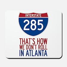 Traffic Sucks on 285 in Atlanta Georgia Mousepad