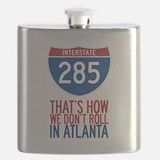 Traffic Sucks on 285 in Atlanta Georgia Flask