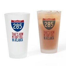 Traffic Sucks on 285 in Atlanta Georgia Drinking G
