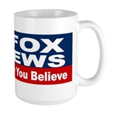 Fox news Large Mugs (15 oz)