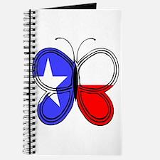 Texas Flag Butterfly Journal