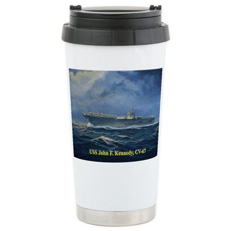 USS JFK clothes 3 Travel Mug