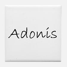 adonis 2 Tile Coaster