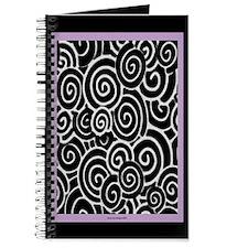 Plum Swirls Journal