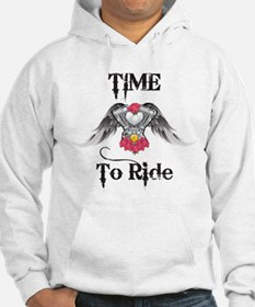Time To Ride, Engine Hoodie