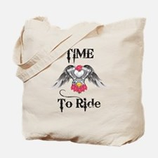 Time To Ride, Engine Tote Bag