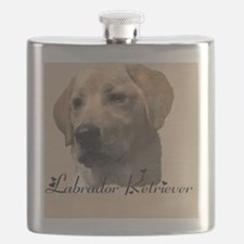 Yellow Labrador Retriever Flask