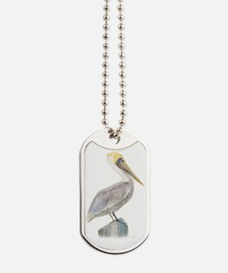 Brown Pelican Dog Tags