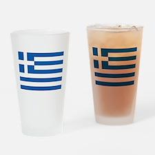 Greece Drinking Glass