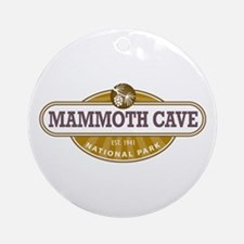 Mammoth Cave National Park Ornament (Round)