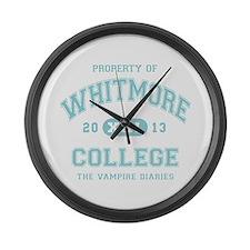 The Vampire Diaries WHITMORE COLLEGE blue Large Wa