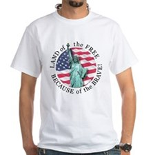 America Free and Brave Shirt