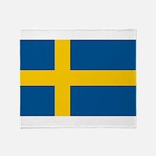 Sweden Throw Blanket