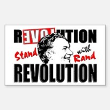 Stand With Rand Sticker (Rectangle)