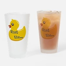 What the..... Duck Drinking Glass