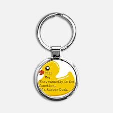 Rubber Duck, Function Round Keychain