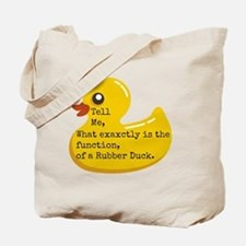 Rubber Duck, Function Tote Bag