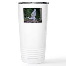 Heron in Motion Travel Coffee Mug