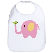 Elephant with Bird Bib