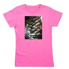 Turkey Feathers Girl's Tee