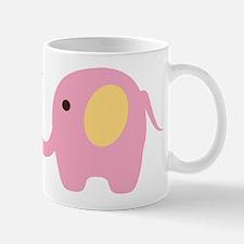 Elephant with Bird Mugs