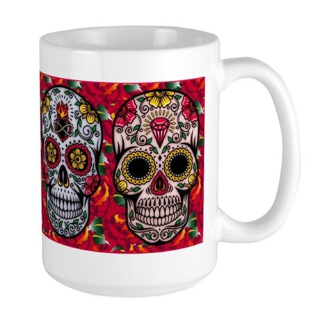 Day of the Dead Large Mug