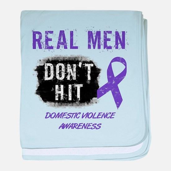 Domestic Violence Awareness baby blanket