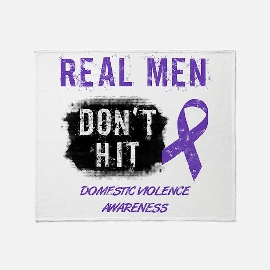 Domestic Violence Awareness Throw Blanket