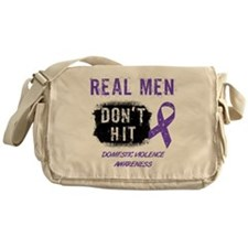 Domestic Violence Awareness Messenger Bag