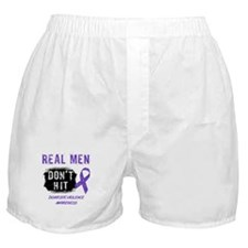 Domestic Violence Awareness Boxer Shorts