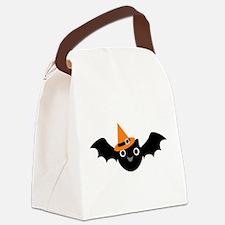 Happy Bat Canvas Lunch Bag