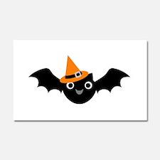 Happy Bat Car Magnet 20 x 12