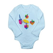Hanukkah Design For Kids Body Suit
