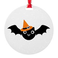 Happy Bat Ornament