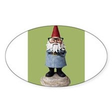 Hipster Garden Gnome with Eyeglasses Nerd Kitsch S